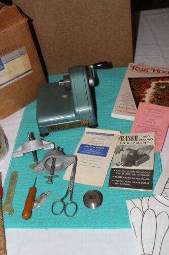 Vintage Harry M Fraser Bliss Portable Strip Slitter Cloth Cutter 1963 + Wool