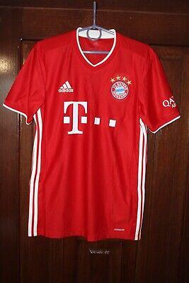 Bayern Munich 2020 2021 Adidas Home Soccer Shirt Jersey Size S image