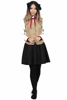 Fate/Stay Night Cosplay Costume Magus Master Tohsaka Rin Fall School Uniform - School Master Kostüm