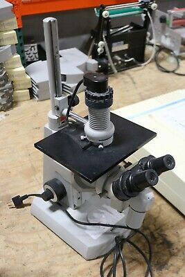 Carl Zeiss Opton Inverted Microscope