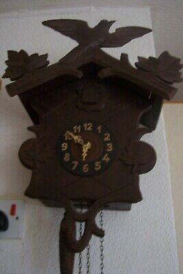 Antique Cuckoo Clock for Spares or Repair