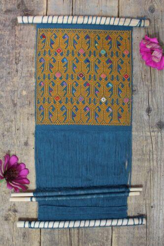 #3 Sample Backstrap Loom for Education or Decor Mayan Larrainzar Chiapas Mexico