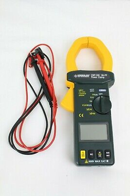 Greenlee Cmp-200 Power Clamp Meter 2000a Amp Clampmeter-trms 2000a Pwr Factor