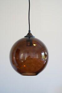 Glass Pendant Light (3 colours available)
