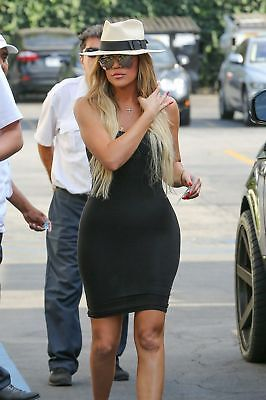 GLOSSY PHOTO PICTURE 8x10 Khloe Kardashian With Glasses ANd (Khloe Kardashian Glasses)