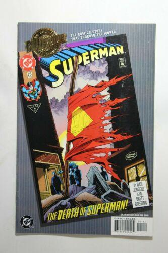 MILLENNIUM EDITION: SUPERMAN vol 2 #75 - DEATH OF SUPERMAN - 2000 DC REPRINT
