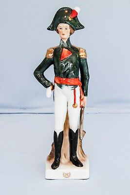 Vintage Porcelain Figure of France French Napoleon Napoleonic Soldier