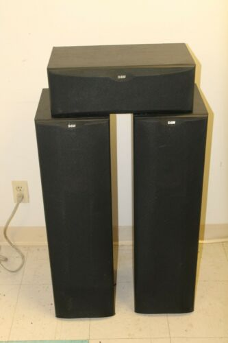 Bowers And Wilkins 3 Speaker Set Black (CC 6 And DM 603)