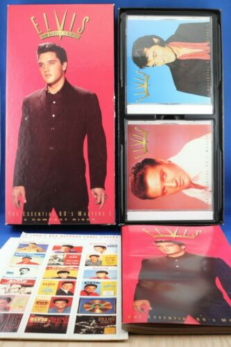 Elvis From Nashville to Memphis The Essential 60s Masters 5 CD Box Set COMPLETE!