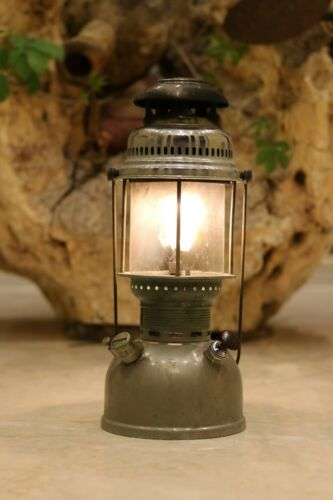 Vintage Old Original Petromax no.826 Brass Kerosene Oil Lamp Made In Germany