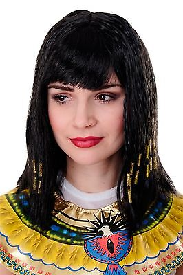 Carnival Wig Cleopatra Cleopatra Antiquity Hollywood Diva Halloween Pw0185 New - Hollywood Carnival Halloween