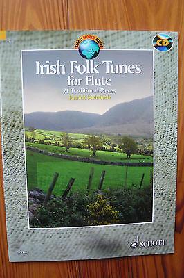Patrick Steinbach. Irish Folk Tunes for Flute - Mängelexemplar