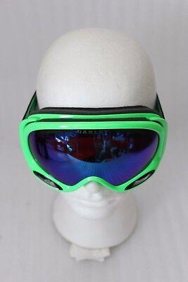 Oakley A-Frame 2.0 unisex Skibrille OO7044 verspiegelte Gläser 80s Green NEU