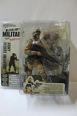 McFarlane Military Redeployed Army Desert Infantry Action Figure FREE SHIPPING](Military Action Figures)