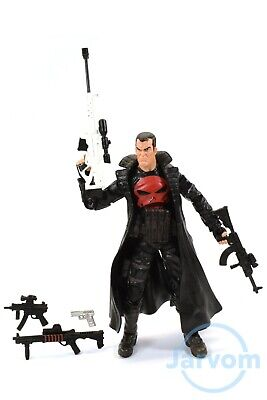 """Marvel Legends 6"""" Inch Epic Heroes Red Thunderbolts Punisher Loose Complete"""