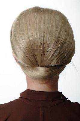 t Halbperücke Haaraufsatz 50er 60er Turmfrisur Aschblond (50er Damen Frisuren)