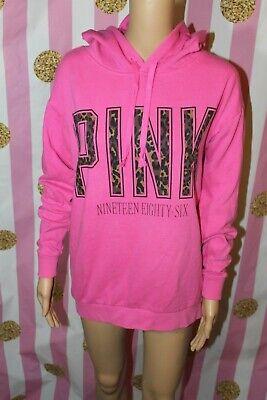 Pink Cheetah Print (PINK Victoria's Secret XS long sleeve hoodie