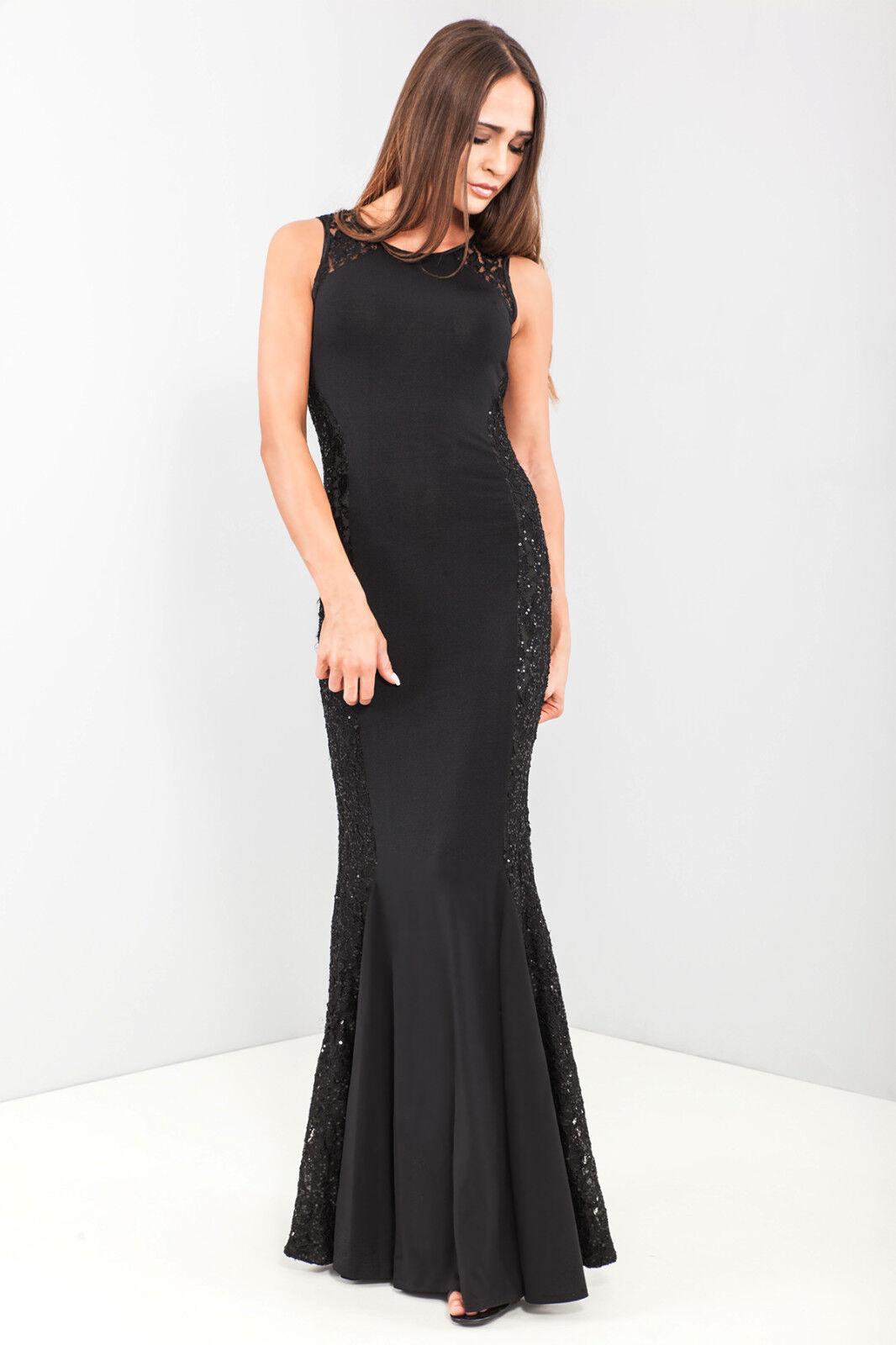 c18aa2589e QUIZ Sequin Lace Pleated Hem Maxi Dress. RRP £65.00 £17.99 + Free Postage