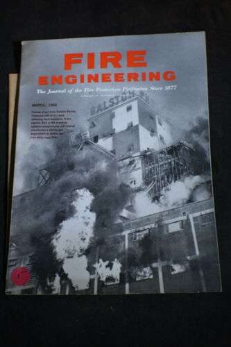 March 1962 Fire Engineering Magazine