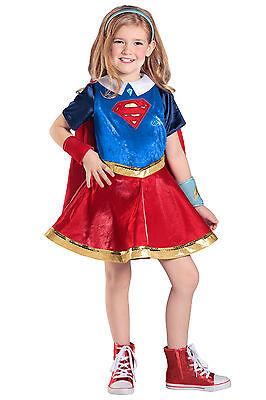 DC Super Hero Girl Premium Supergirl™ Deluxe Kids Costume Girls 5 6 7 8 9 10 12