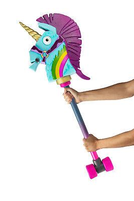 Fortnite Rainbow Smash Einhorn 1:1 Replika Rollenspiel Fasching Kostüm - Spiel Figur Kostüm