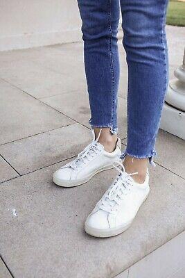 #-345- VEJA Esplar Sneaker Wome's Sohes White SZ 37 / 6 US