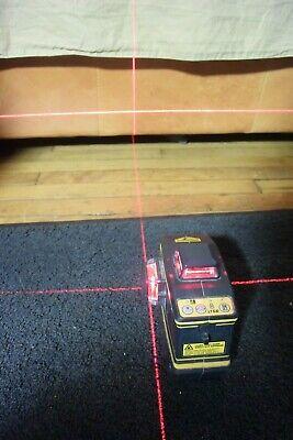 Spectra Precision Trimble 3 Crosshair Red Beam Laser Level Model Lt56