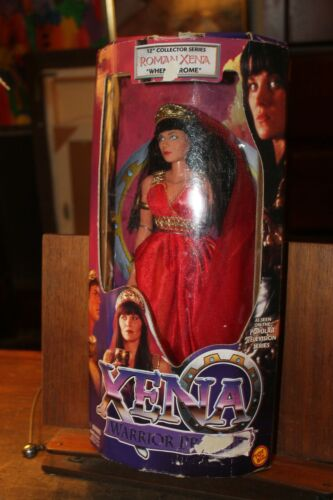 "Roman Xena Warrior Princess 12"" Doll When in Rome 1998 Toy Biz"