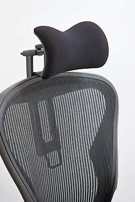 Atlas Headrest For Herman Miller Aeron Chair - Fabric With New Upgrades