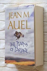 The Plains of Passage by Jean M. Auel (Paperback,new) free postage