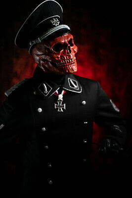 Cosplay Red Skull HYDRA Maske Totenschädel CAPTAIN AMERICA Avengers Latex (Red Skull Kostüm)