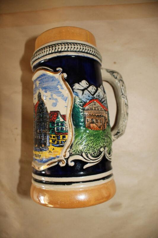 Old Germany Beer Mug Stein Vintage