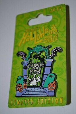 Disney Oogie Boogie/Zero Frightfully Fun Parade Mickeys Not So Scary Hinged Pin