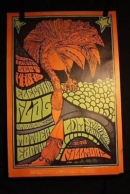Bill Graham #83 Poster Electric Flag Mother Earth LDM Spiritual Blashfield