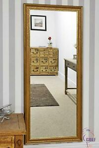 Full Length Mottled Effect Dress Wall Mirror 5ft5 x 2ft5 (167cm x 72cm)