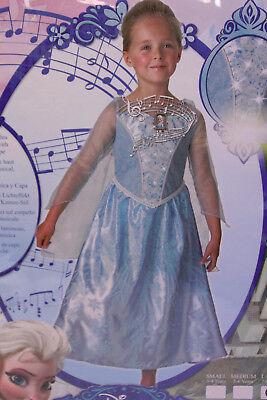 Rubie's Prinzessin ELSA Faschings Kleid 7-8 J Gr 128 FROZEN Mädchen Kostüm - Frozen Kostüm S