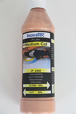 500ml Medium Cut IP 2500  Schleifpaste Kratzerentfernung Autopolitur Lackpflege
