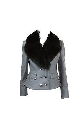 Burberry London Fox Fur Collar