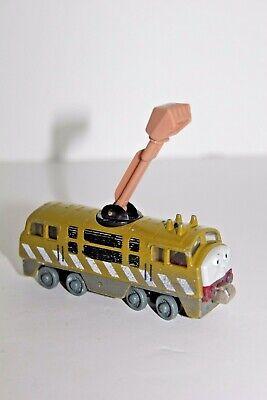Thomas Train Engine DIESEL 10 Diecast Metal Magnetic Magnet Green 2002 Toy