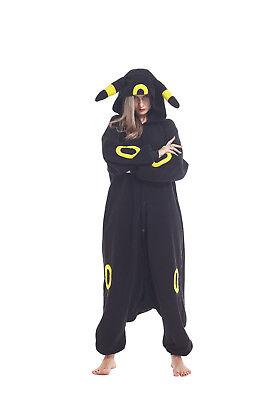 Unisex Adult Pajamas Animal Cosplay Costumes Umbreon Kigurumi Onesie0 Sleepwear