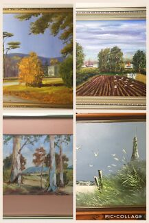 Original artwork - oils & watercolours