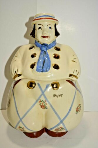 Shawnee Pottery HAPPY JACK DUTCH BOY COOKIE JAR USA