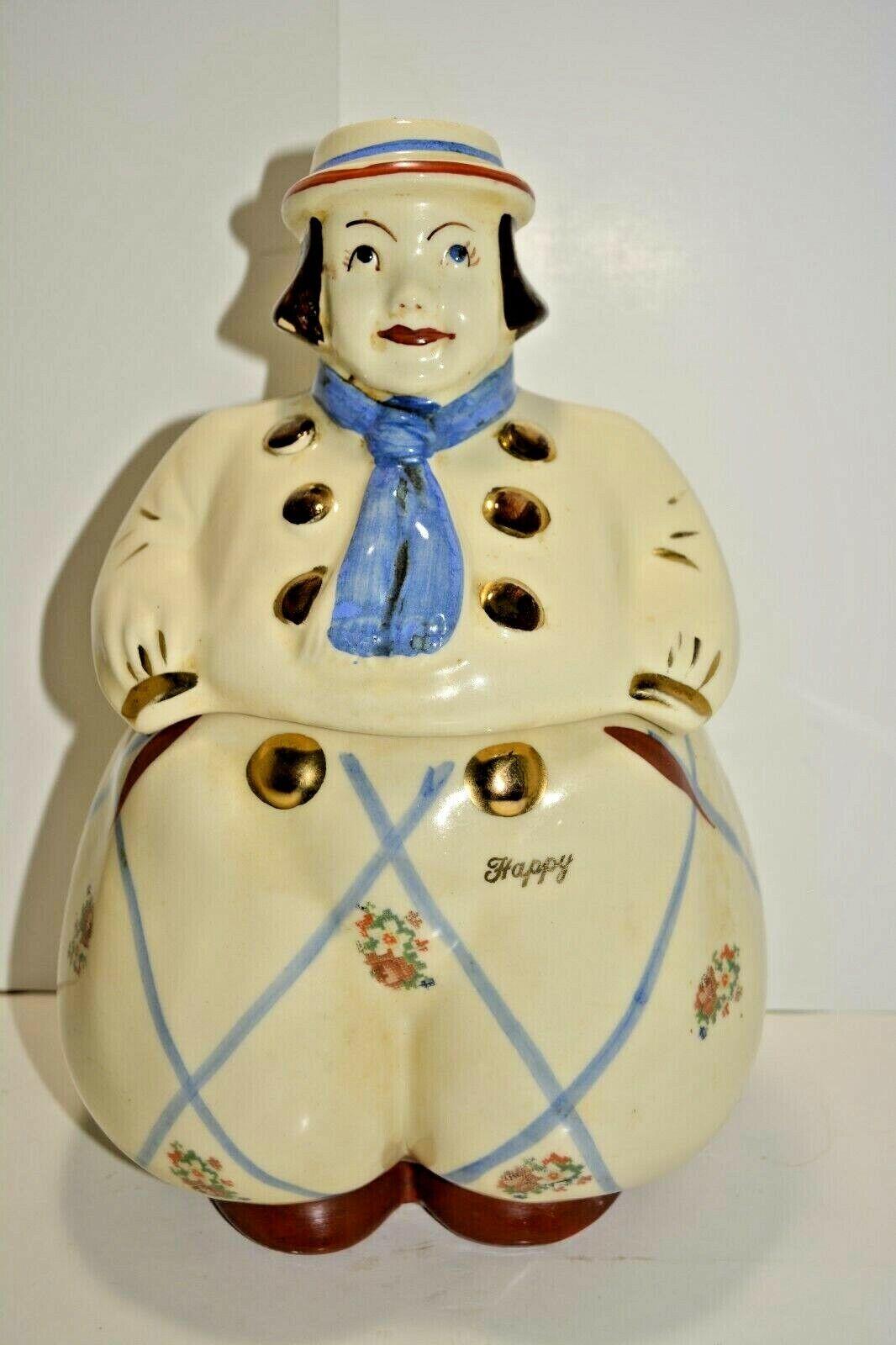 Shawnee Pottery HAPPY JACK DUTCH BOY COOKIE JAR USA  - $50.00