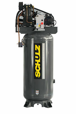 New Schulz 5 Hp Piston Air Compressor 932.9334-0 580vl20x-1 Single Phase