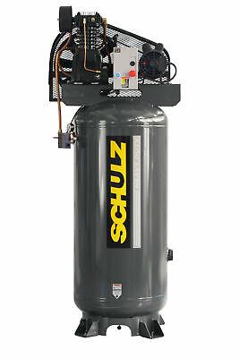 New Schulz 5 Hp Piston Air Compressor 932.9334-0 580vl20x-1 Single Phase