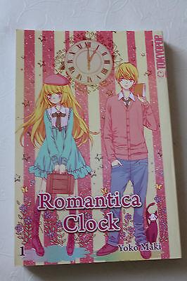 Manga Romantica Clock YOKO Maki wie Neu 1. Auflage Tokyopop