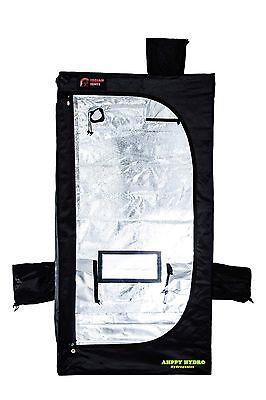 Trojan TS06 Silver 60 X 60 X 140 Dark Grow Room Mylar Tent Hydroponics