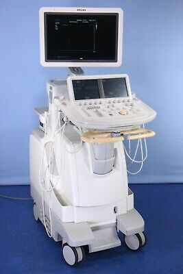 Philips Ie33 Ultrasound With 4 Probes Recent Biomed Inspection Warranty