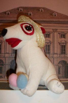 Target Bullseye Terrier Dog Plush EASTER STRAW BONNET & EGGS  2001 RARE PUP - Plush Puppies Egg