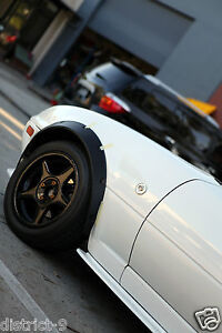 MAZDA MX5 FLARES WHEEL GUARD FOR NA/NB/NC SERIES - QUALITY DURABLE FLEXI PLASTIC
